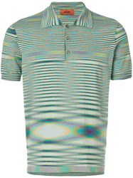 Missoni Patterned Polo Shirt Multicolour