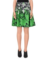 Miu Miu Skirts Knee Length Skirts Women Green