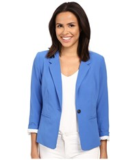 Kensie Ks2k2s51 Blazer Bright Cobalt Women's Jacket Blue