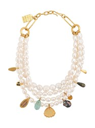 Lizzie Fortunato Jewels Mixed Charm Necklace 60