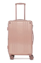 Calpak Ambeur 20 Inch Rolling Spinner Carry On Pink