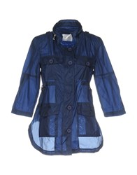 Anonyme Designers Overcoats Blue