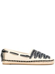 Tory Burch Laced Canvas Espadrilles 60
