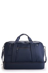 Vessel Signature Large Boston Duffel Bag Blue
