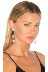 Jennifer Behr Aurora Earrings Metallic Silver