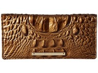 Brahmin Ady Wallet Oak Wallet Handbags Brown