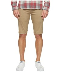 Ben Sherman Stretch Slim Chino Shorts Stone Men's Shorts White