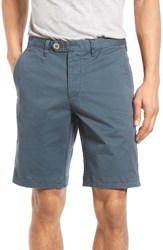 Ted Baker Men's London Shesho Chino Shorts Teal Blue