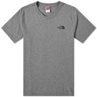 The North Face Simple Dome Tee Grey