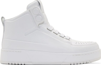 3.1 Phillip Lim White Buffed Matte Leather High Top Sneakers