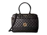 Love Moschino Large Classic Quilted Handbag Black Handbags