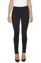 Cece Women's Ponte Knit Leggings Rich Black