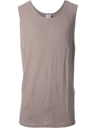 Chapter Loose Fit Tank Top Brown