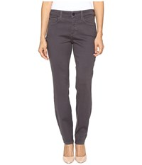 Nydj Petite Alina Leggings In Super Sculpting Denim In Titanium Titanium Women's Jeans Metallic