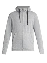Peak Performance Structure Jersey Hooded Sweatshirt Grey