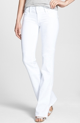 Hudson Jeans 'Supermodel Signature' Bootcut Stretch Jeans White Wash Long