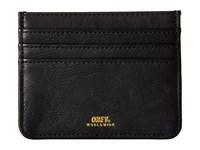 Obey Gentry Id Wallet Black 1 Wallet Handbags