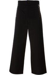 Jean Paul Gaultier Vintage Zip Detail Trousers Black