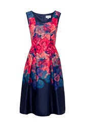 Whistle And Wolf Ombre Rose Midi Length Prom Dress Multi Coloured Multi Coloured
