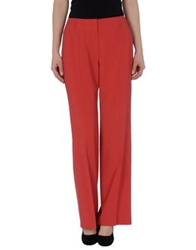 Escada Casual Pants Brick Red
