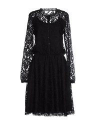 Fornarina Dresses Knee Length Dresses Women Black