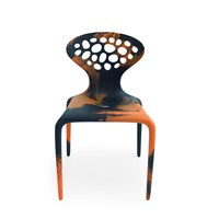 Moroso Supernatural Chair Multicolour Black Orange