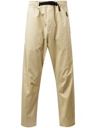 Nike Track Trousers Men Cotton Spandex Elastane M Nude Neutrals