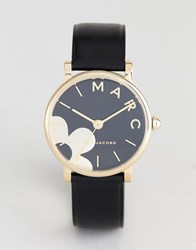 Marc Jacobs Mj1619 Daisy Leather Watch Black