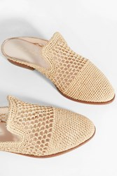 Robert Clergerie Women S Antes Woven Loafer Boutique1 Beige