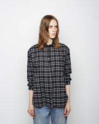 6397 Plaid Popover Black White Plaid