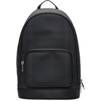 Burberry Black London Check Backpack