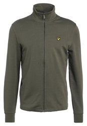 Lyle And Scott Tracksuit Top Dusty Olive