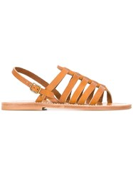K. Jacques Homer Sandals Women Leather 39 Nude Neutrals