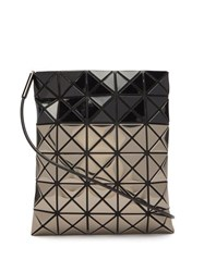 Issey Miyake Bao Bao Platinum Mermaid Two Tone Cross Body Bag Black Multi
