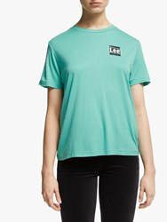 Lee Relaxed Fit T Shirt Agate Green