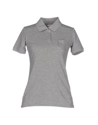 Mamaquevo Topwear Polo Shirts Women Grey