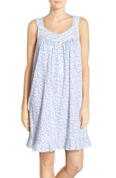 Eileen West Women's Floral Jersey Chemise