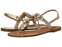 G By Guess Kyli 3 Gold Women's Sandals