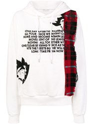 Each X Other Front Printed Hoodie White