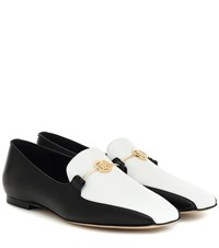Burberry Almerton Leather Loafers Black