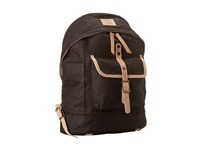 Will Leather Goods Wax Canvas Dome Backpack Brown Backpack Bags