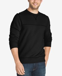 G.H. Bass And Co. Men's Fleece Pullover Black Heather