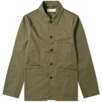 Universal Works Bakers Jacket Green