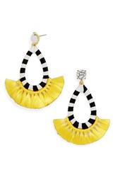 Baublebar Women's Summer Drop Earrings Yellow