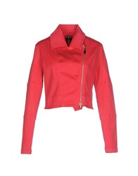 S.O.S By Orza Studio Coats And Jackets Jackets Women Fuchsia