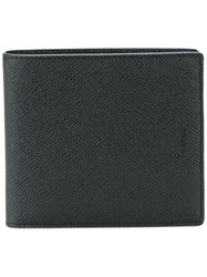 Bally Bi Fold Wallet Black
