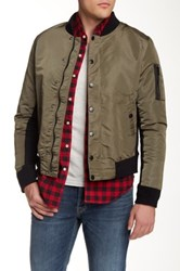 Hudson Jeans The Bomber Jacket Green