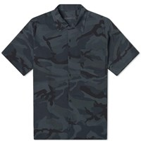 Sophnet. Camoflage Rayon Wide Box Shirt Grey
