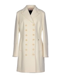 Galliano Coats Ivory