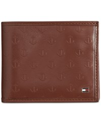 Tommy Hilfiger Sawyer Double Billfold Saddle